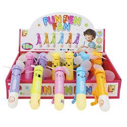 Los juguetes de verano Mini Ventilador Ventilador de mano de rotación de mano (H9090007)