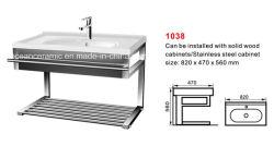 Wash Basin (No. 1038년)를 위한 강철 Shelf, Basin Holder
