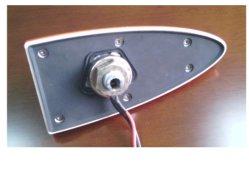 GPS de barbatana de tubarão+AM/FM+GSM Função combinada a antena do carro