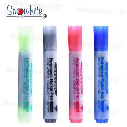 Etiqueta de plástico de Snowhite M01 Pemanent con la semilla del cincel