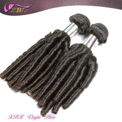 Xbl nova espiral de textura do cabelo ondulado Virgem Extensão de cabelo Brasileiro