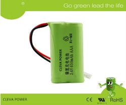 AAA Ni-MH 2,4 V 650mAh les batteries de téléphone sans fil