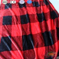 レジ係によって印刷される羊毛毛布の寝具