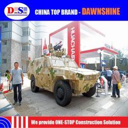 China Tecnología Militar 4X4 vehículo blindado de la luz de ruedas.