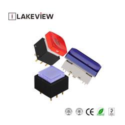 カスタムオンオフの電気圧力制御照らされたSMDのタクタイル押しボタンスイッチ
