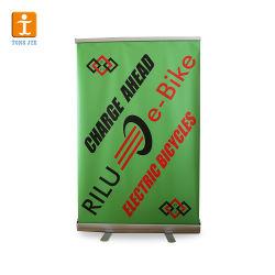 La pubblicità bassa larga del banco di mostra rotola in su la bandiera (TJ-XZ-12)