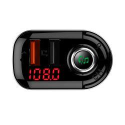 Cargador rápido de 3.1A para coche Bluetooth y reproductor de MP3 con el transmisor de FM