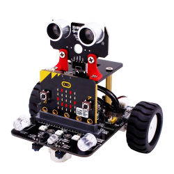 Kit de voiture robot intelligent pour les enfants Micro : le bit de la bbc jouets programmable avec modules Bluetooth suivi Tutorialline IR L'éducation scientifique de la tige