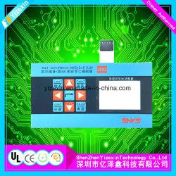 Testblatt-grafische flache Oberfläche-Hängen Technologie-Membranschalter mit Windows ein