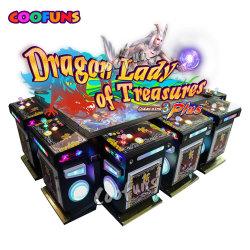 8つのプレーヤーのカジノの魚の技術のアーケードスロット賭ける硬貨釣機械によって作動させるゲーム