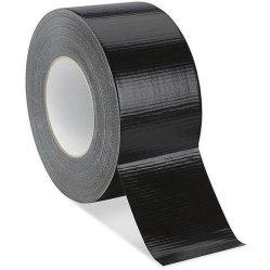 Schwarzes, robustes Kanalband für Kantenschutz