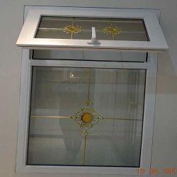 De Prijs van het Venster van pvc/Vinyl Plastic Venster/Lucht het Openen Afbaardend Venster Windows/UPVC/Gehangen Venster