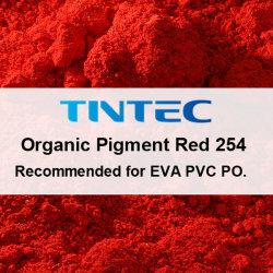Органических красного пигмента 254 для пластиковый слой краски чернил (DPP красного цвета)