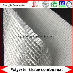 Polyester-Gewebe-kombiniertes genähtes Fiberglas-zweiachsiges Gewebe