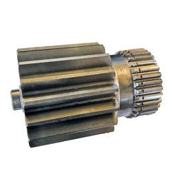 Прямозубая цилиндрическая шестерня Прямые производители с сминания совмещая шлифовки