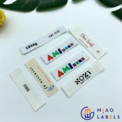 Stampa del contrassegno tessuta indumento su ordinazione ultrasonico di qualità di prezzi di fabbrica di taglio migliore
