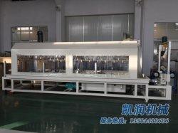 La nueva tecnología único tornillo de HDPE de fabricación de tubos de cartón ondulado de doble pared Línea de producción de 300 kg/h