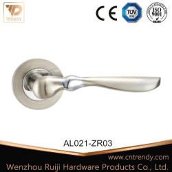 アルミニウム出入口のハードウェアの家具のレバーロックのハンドル(AL021-ZR03)