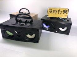 2020 Altifalante Duplo Design de subwoofer de alto-falante Bluetooth oculares graves ricos Rádio Portátil Digital de Áudio de Alto-falante colunas sem fios