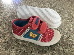 Nouveau design Kids chaussures occasionnel chaussures chaussures en toile PVC d'injection (HH0427-26)