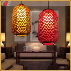 Dekorative Lampen-traditionelle handgemachte Bambuslampen-hängende helle helle Laterne im Qualitäts-Leuchter, der Licht der hängenden Lampen-LED beleuchtet