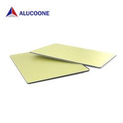 Hoja de ACP Panel Compuesto de Aluminio madera tallada del panel de pared