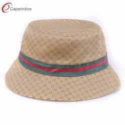 Klassischer Großhandelsbildschirmausdruck-Fischen-Wannen-Hut für externen Fischer