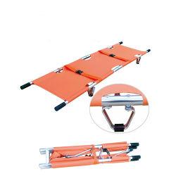 Barella portatile di alluminio pieghevole della volta di emergenza 2 del Ce per l'ambulanza con il sacchetto