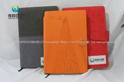 Высокое качество пользовательский ноутбук из кожи печать с помощью закладки