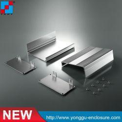 O corpo de alumínio para a produção do Projeto Preto eletrônico e leve