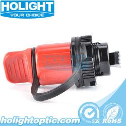 Minifaser-wasserdichter Blendenverschluss-Adapter Sc-IP67