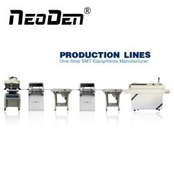 A linha de produção SMT: Neoden4 Mounter Chip +Ys600 Impressora Tela+T8L Reflow Forno+J10X 2 para o conjunto PCB