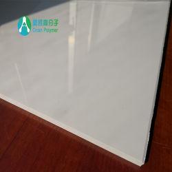 5.0Mm Feuille en PVC blanc brillant avec l'assistance UV