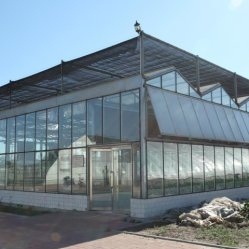 Glass Greenhouse geprefabriceerde Tuin kassen Greenhouse Design Garden gebruikt