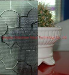 3mm, 4mm, 5mm, das 6mm Grau Nashiji Muster-Glas/graues Flora-Glas/Grau mögen Glas-/graues Karatachi Glas/graues dekoratives Glas/graues Puzzlespiel-Glas blühen