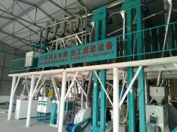 Mais professionale 50t che trasforma la farina di macinazione della pianta del mais del macchinario