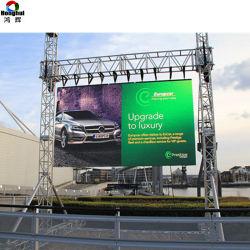 Im Freien P4.81 farbenreiche 3840 Hz Miet-LED-Bildschirmanzeige-videowand für das Bekanntmachen des Bildschirms (P3.91)