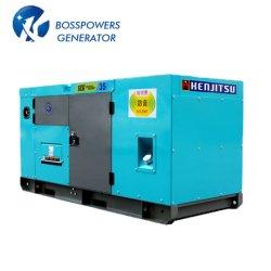 Небольшой размер 23квт 60Гц Doosan Water-Cooled бесшумный корпус дизельных генераторах