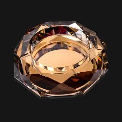 Роскошные Glod восьмиугольной Crystal пепельница (JD-CA-100)