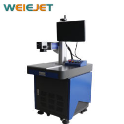 Pharmaceuticals에 새로운 Launched Standstill Laser Machine 20W Fiber Laser Marking 또는 Engraving Machine
