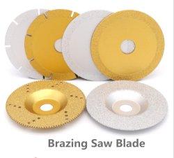 놋쇠로 만드는 Diamond Saw Blade Cutting 및 Grinding Porcelain 또는 Stone