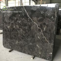 M700 Pulido gran losa de mármol Emperador Oscuro China