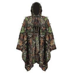 난조 하이킹을%s 다기능 방수 비옷 두건이 있는 경량 우천용 의류