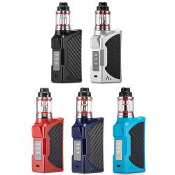 2018 Zigaretten-Kasten-MOD-Installationssatz der besten mechanischen Kasten Mods Batterie-nachladbarer 90W E mit der Kapazität 2200mAh