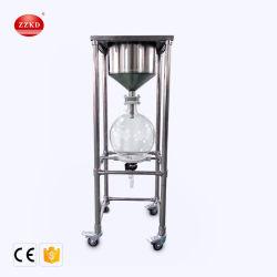 20L en acier inoxydable de laboratoire le filtre à vide de l'équipement de filtration industrielle