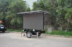 P5 LED-Trailer mit Solarpanels für Videoprowerbung im Freien