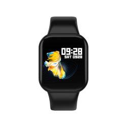 """Tactile plein 1,3"""" large écran couleur X16 Personnes âgées montre sport Bluetooth Contrôle de la musique de surveillance de la pression artérielle Health Watch"""