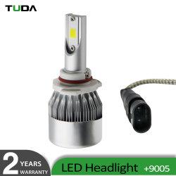 La automoción de alta potencia de 24V 8000lumen H7 9005 9006 9012 H10 H8 C6 de las lámparas de luz LED COCHE