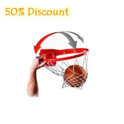 Ring van het Basketbal van de Korting van 50% de Afgescheiden Draagbare voor de Bevordering van Kerstmis