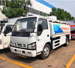 Kraftstoff-LKW-Tanker-LKW der Japan-Isuzu Marken-5000liters, 5cbm Kraftstofftank, LKW des Tanker-5000lfuel, Öl-Brennstoffaufnahme-LKW, Kraftstoff-Zufuhr-LKW, Öl-Transport-Becken